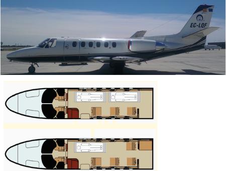Air ambulance jet flota - Terminal ejecutiva barajas ...