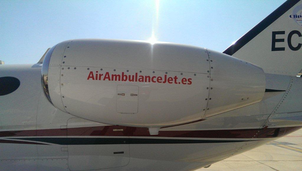 Air ambulance jet c510 - Terminal ejecutiva barajas ...